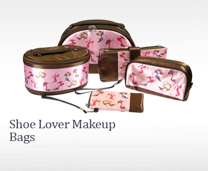 Shoe Lover Makeup Bags