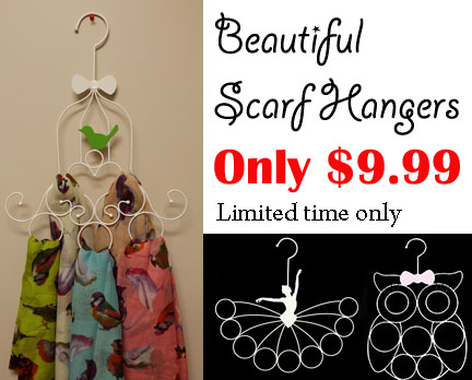 Scarf hangers ON SALE